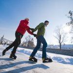 Eislaufen - © OÖ Tourismus/Erber